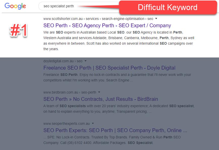 #1 SEO Specialist Perth